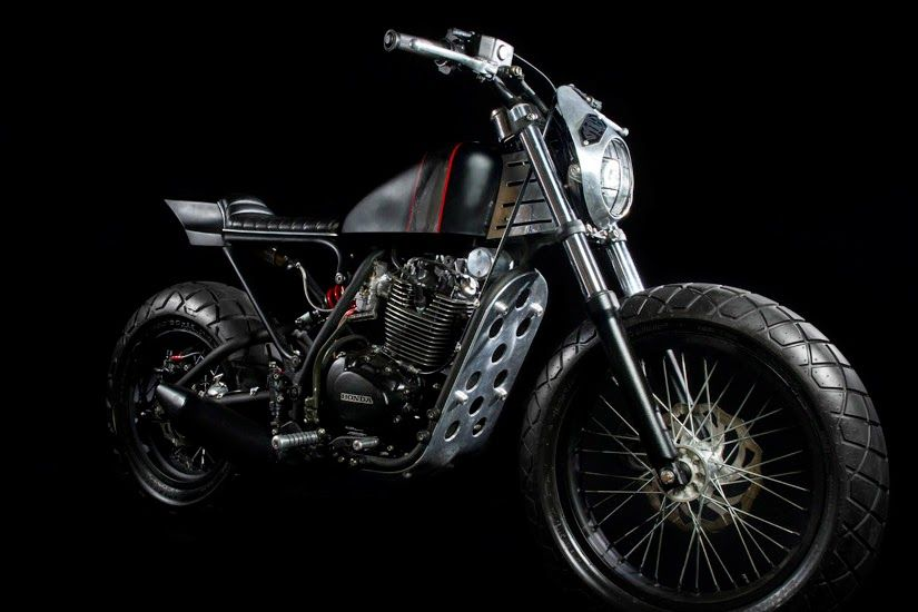 The Legend Honda CB100 B Y Smoked Garage In Bali, Indonesia ~ Read More On  Return