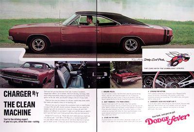 1968 Dodge license plate tag 68  Dart Polara Charger R//T Coronet Super Bee