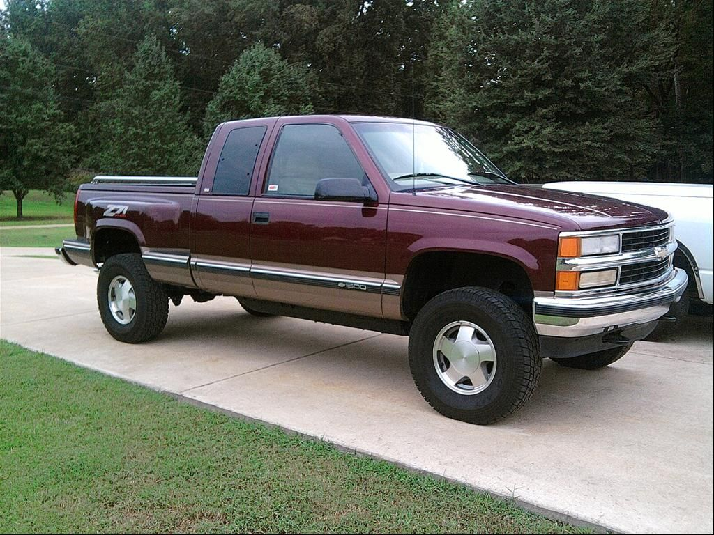 All Chevy 98 chevrolet 1500 : 1998 chevy silverado extended cab 1500 4x4 - Google Search | My ...