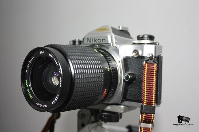 concarrete: Nikon FE , una camara que enamora