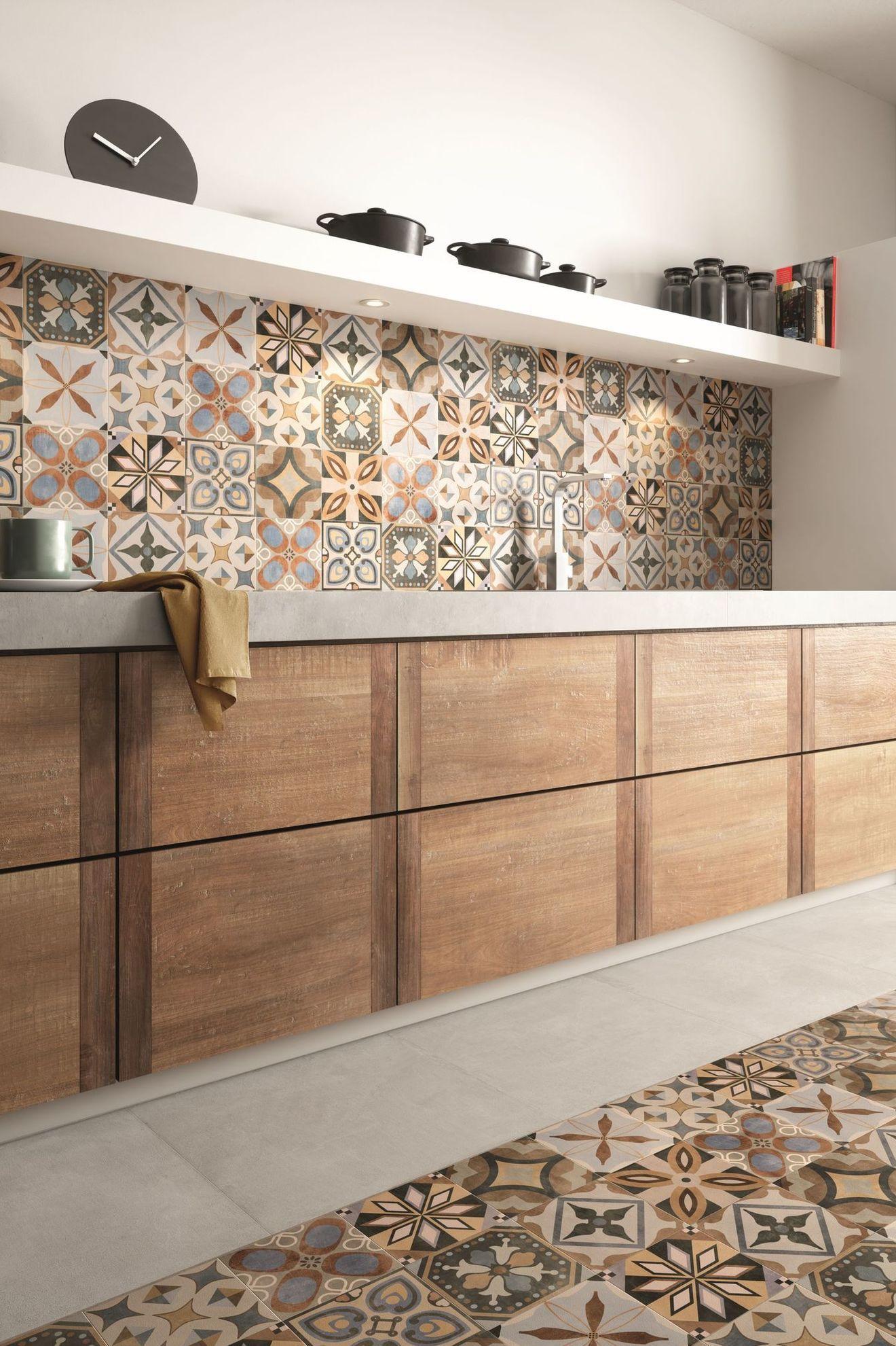 Modèle Carreaux Pour Cuisine carrelage cuisine sol et mur : 20 modèles | décoration de