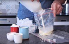 Glace maison en 10 minutes sans sorbetière ni congélateur