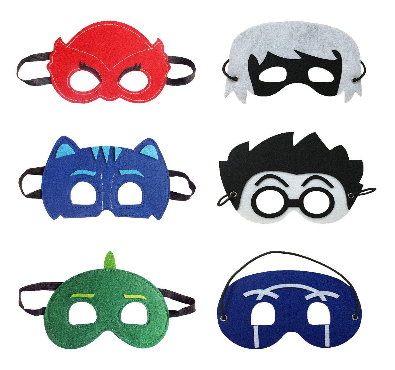 PJ Masks Set of 6 Catboy Owlette Gekko Romeo Luna Ninja ...