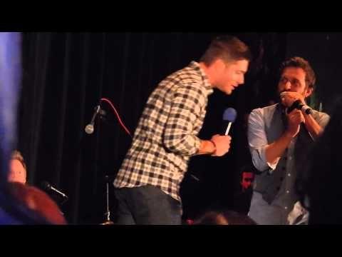 Jensen Ackles Singing Torcon 2014 - YouTube