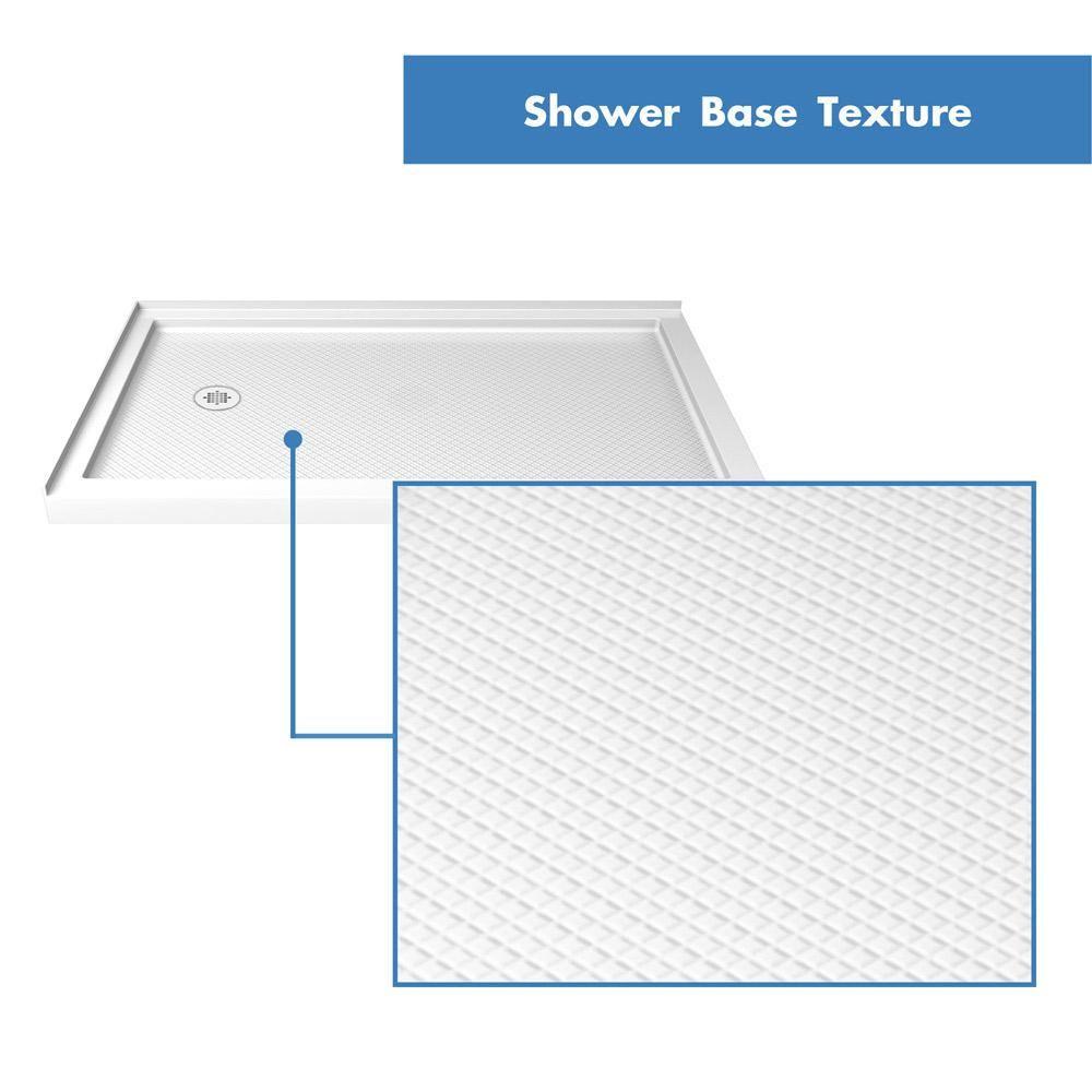 Dreamline Slimline 48 In W X 36 In D Double Threshold Shower