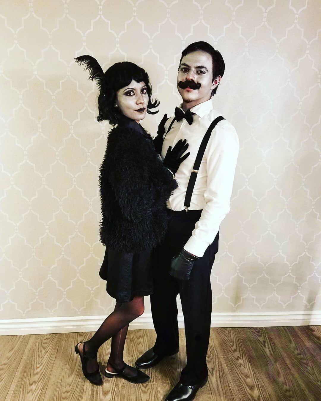 19+ Couple Halloween Costumes DIY Black in 2020 Diy