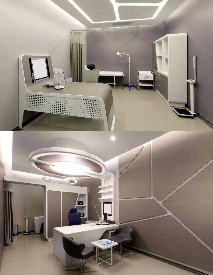 Hospital Room Interior Design: Liv Hospital - Zoom Mimarlık