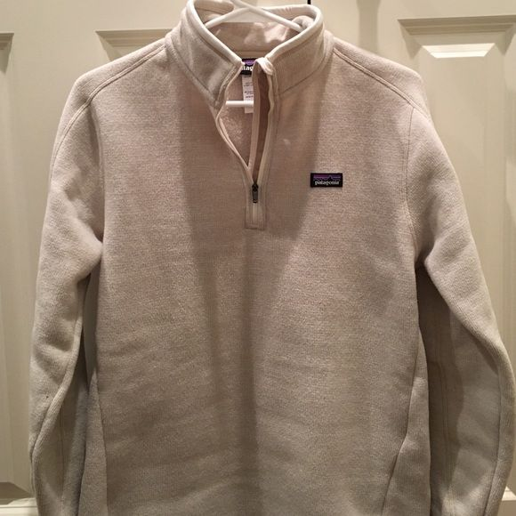 discount sale sale online picked up Patagonia Better sweater 1/4 zip in linen Medium Patagonia better ...
