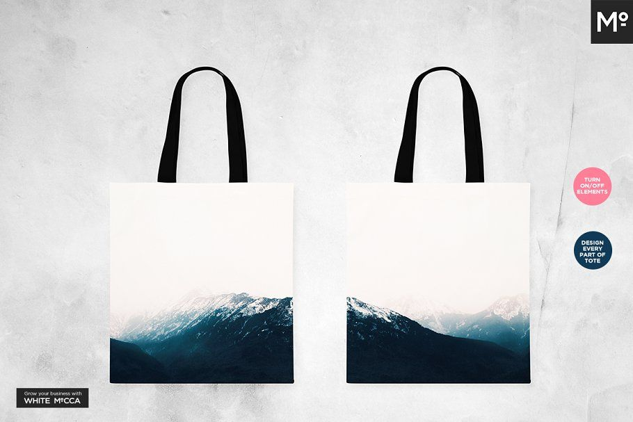 Download Canvas Tote Bag Mock Ups Set Canvas Tote Bags Canvas Shopper Canvas Shopper Bag
