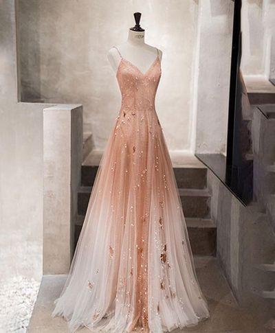 Chic a-line Spaghetti-Trägern Homecoming Kleider kurzes Abendkleid Perlen Homecoming Kleider   – ❥❥  Prom dress  HOT  2020❥❥