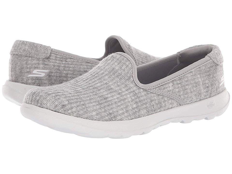 Skechers Performance Go Walk Lite Enchantment Women S Shoes Grey