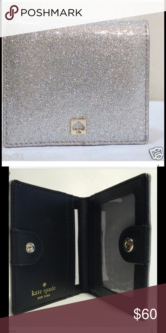 Kate spade Mavis street serenade silver Beautiful silver wallet. Price is firm unless bundled💖 no trades. Free gift 🎁 with 3+ bundle 🌸 top 10% rated seller🌸.                                                     🌻Fast shipper🌻                                              🌹top 10%sharer🌹 kate spade Bags Wallets