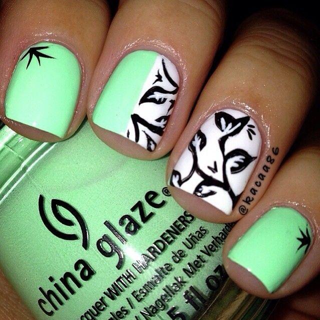 Pin de Samantha King en Nails | Pinterest | Diseños de uñas ...