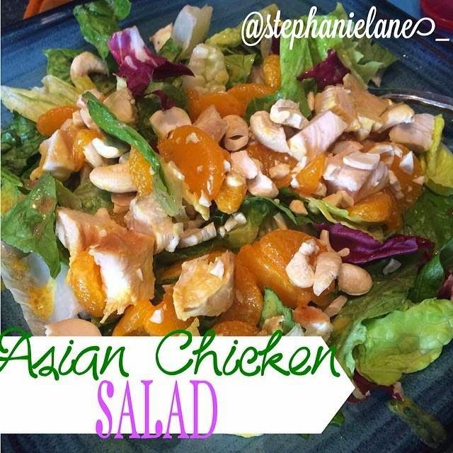 Stephanie Lane Fitness: Easy Lunch - Asian Chicken Salad