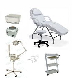 Econo Spa Equipment Package Facial Room Esthetics Room Esthetician Room