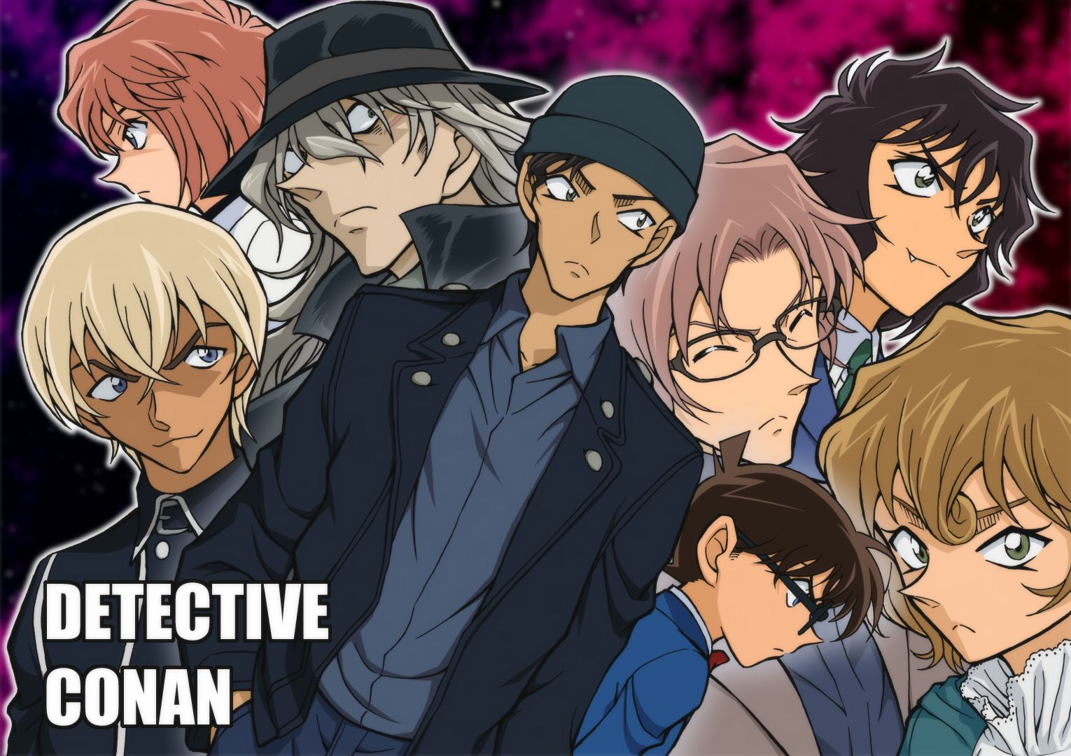 Detective Conan Mysterious Characters (1) Detective