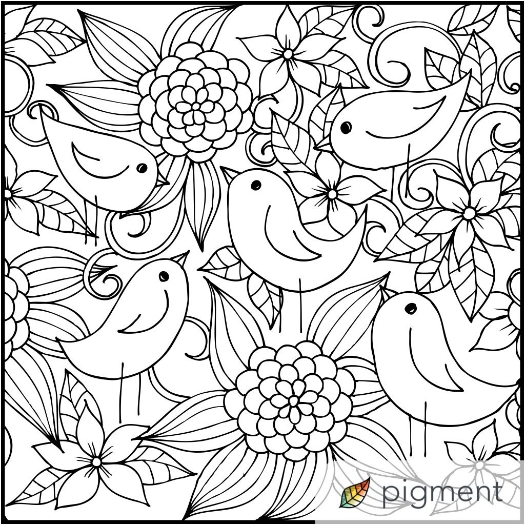 Art therapy coloring book and pencils - Patterns Art Therapy Pencil