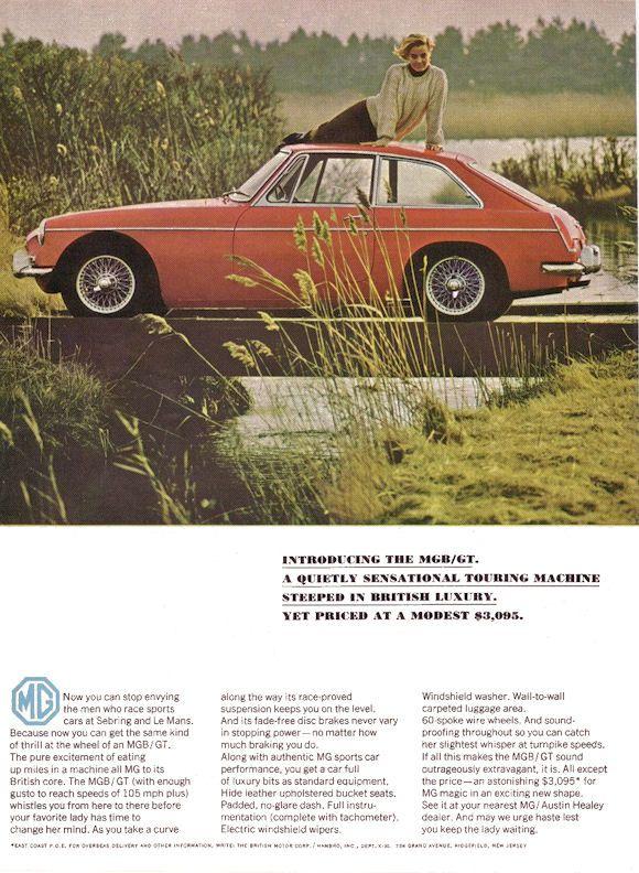 Automotive Advertising Blog Mg Cars British Sports Cars Car Ads