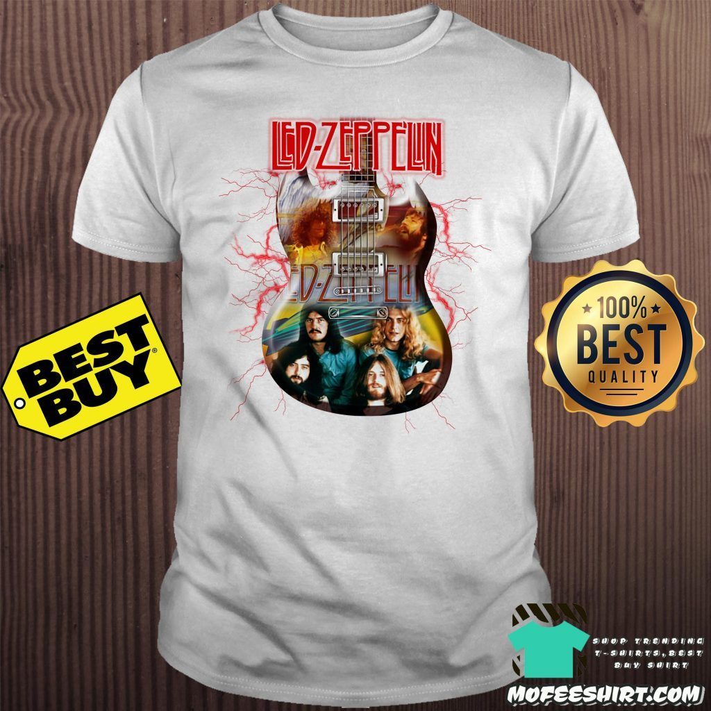 OFFICIAL! Led Zeppelin /'Tour 1977/' Womens T-Shirt - Amplified Clothing White