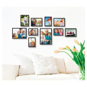 Photo Frame Arrangement 10 Piece Frame Set Frame Arrangement Framed Photo Collage Frame