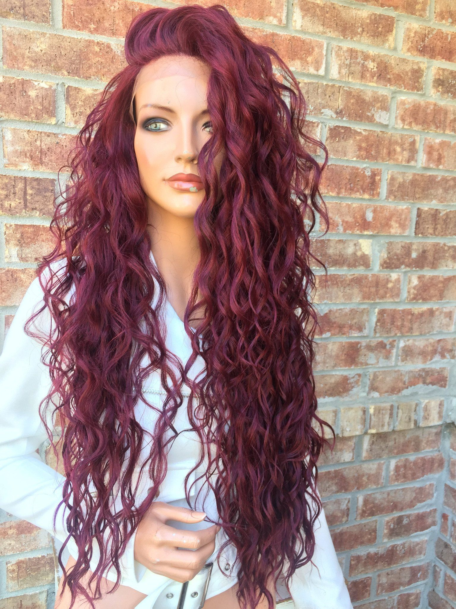 Peg Long Waves 26 Hair Colors To Think On Pinterest