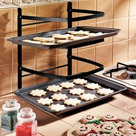 Space Saving Baking Rack I Would Also Want A Cooling Rack Just