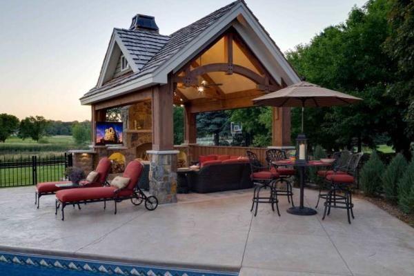 Superbe Backyard Swimming Pool Design And Installation Minneapolis   Southview  Design
