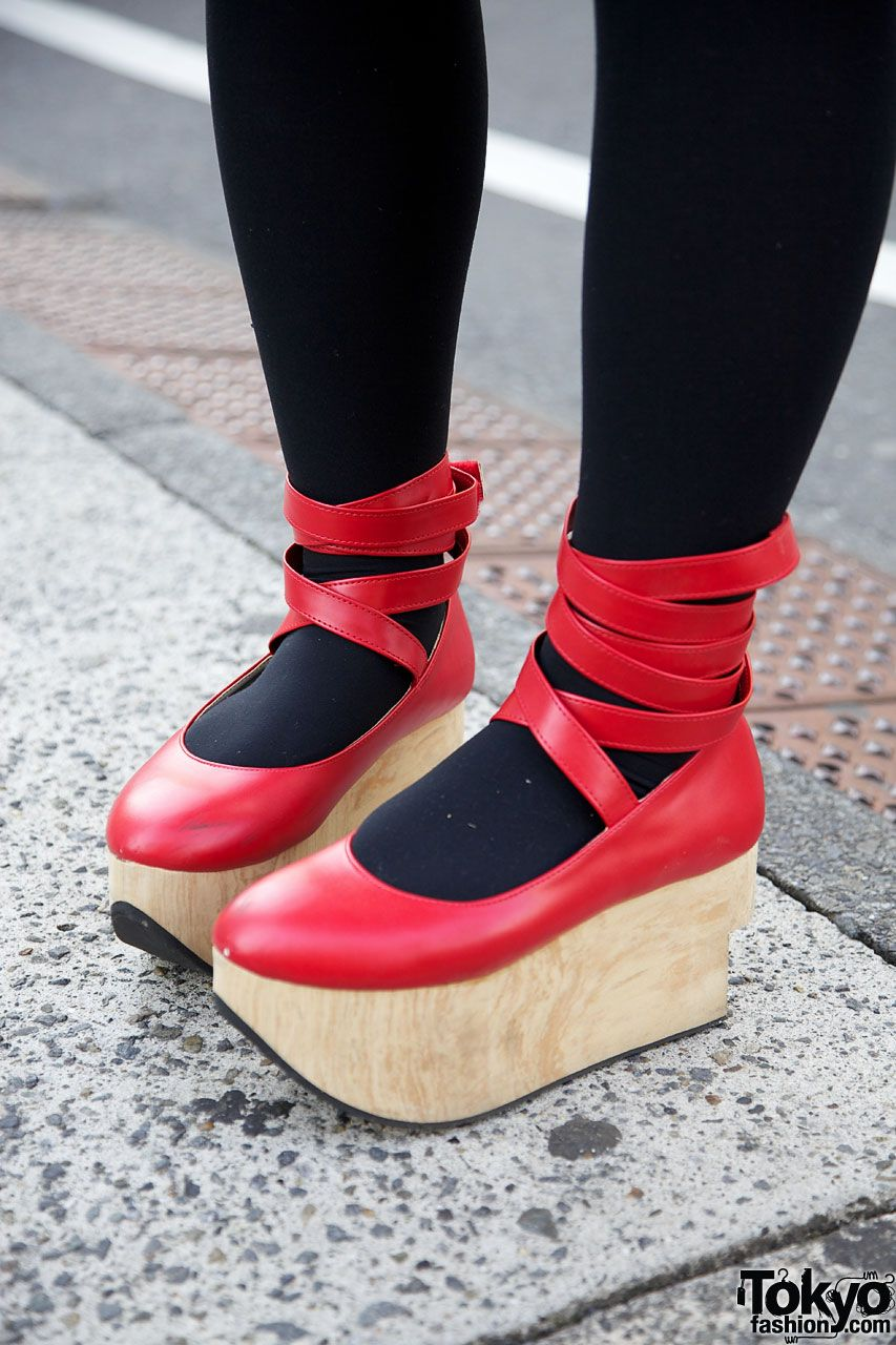 1c391d9247e2d Rocking Horse Shoes (RED) - from Tokyo Fashion | But she was always ...