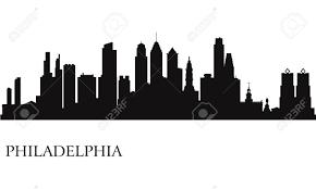 Philadelphia Skyline Silhouette Google Search Silhueta Cidade