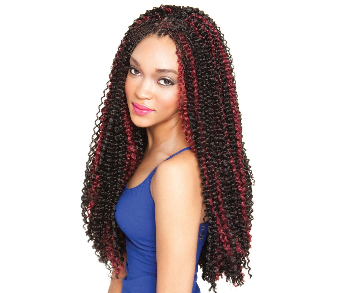 Pin on Bulk Hair for Crochet Braids