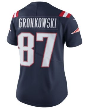 Nike Women s Rob Gronkowski New England Patriots Color Rush Limited Jersey  - Blue XL 278a73314