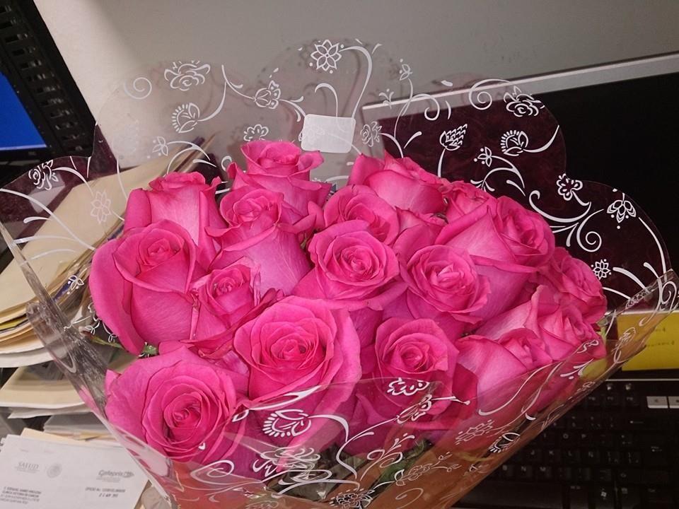Flores al trabajo <3