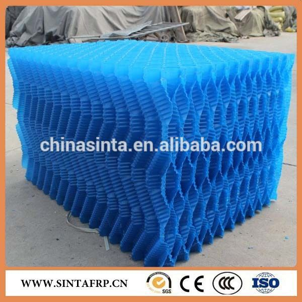 Supply Polyethylene Polypropylene Structured Trickling Filter