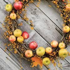 Corona de manzanas