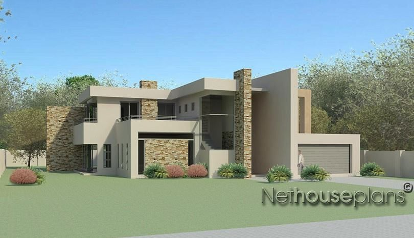 4 Bedroom House Design With Images House Plans South Africa
