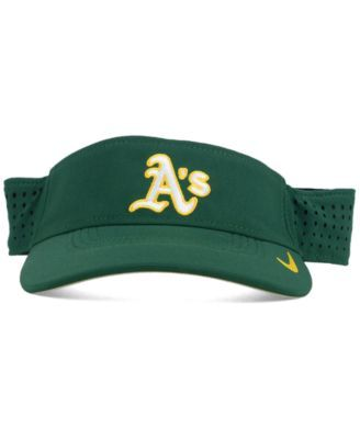 bba436f5dac Nike Oakland Athletics Vapor Visor - Green Adjustable