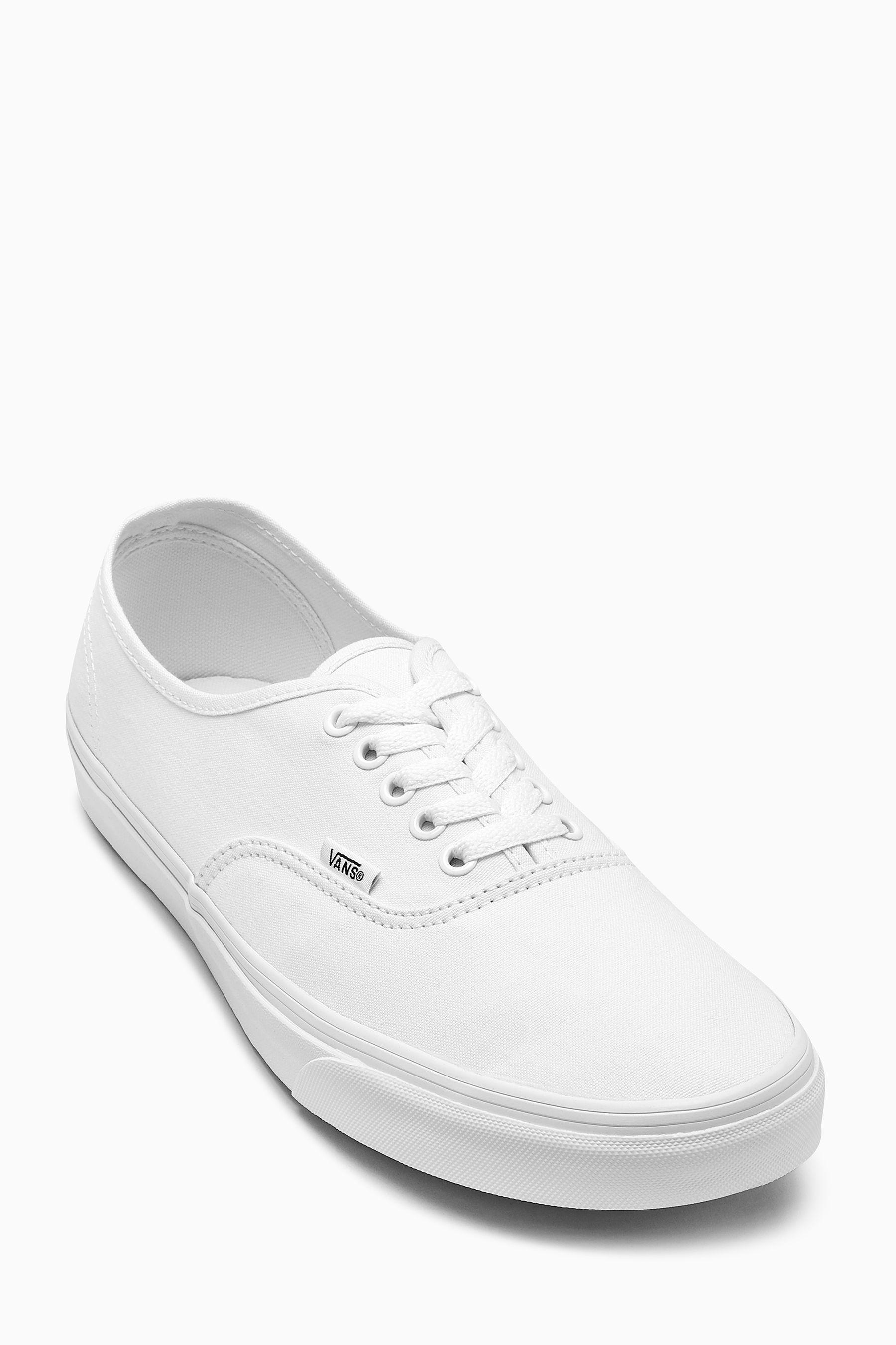 authentic white vans mens