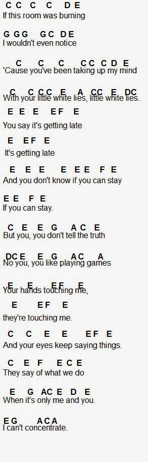 Flute Sheet Music Image By Karmen Kresina On Lwl One Direction