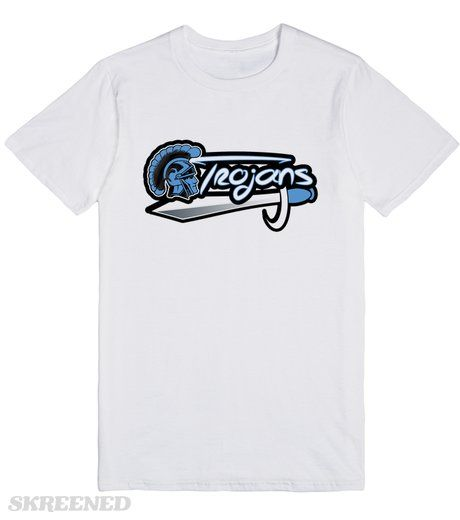 Ribault Trojans T Shirt Skreened Unique Tshirt Designs Mens Tops Shirts