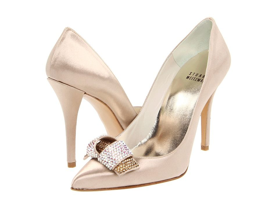 If Only I Could Last In Heels This High Stuart Weitzman Gloloopy 560 00 Stuart Weitzman Bridal Bridal Shoes Bride Shoes