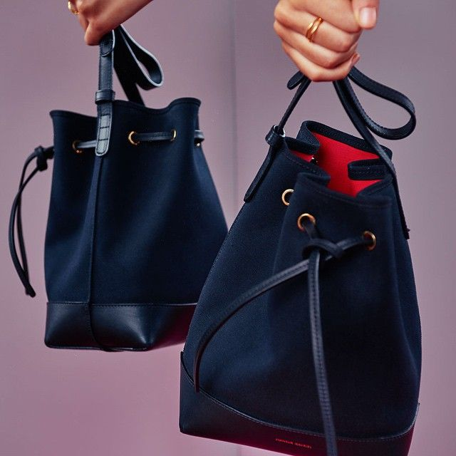 "9fde1416255d ""SS15 canvas bucket ❤ via  refinery29""    black  BucketBag  LeatherBag   fashion  style  stylish  MansurGavriel  mansurgavriel  refinery29   refinery29. """