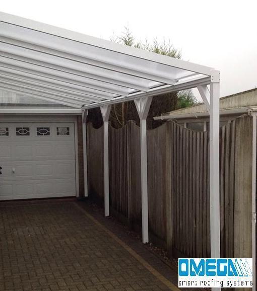 Aluminium Canopy Carport Patio Cover With Knee Braces 1 5m 3m Projection Patio Canopy Canopy Outdoor Backyard Canopy