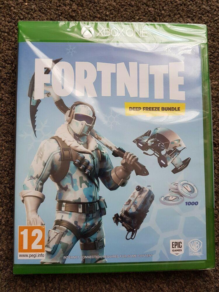 Fortnite Deep Freeze Bundle Xbox One fortnite UK game