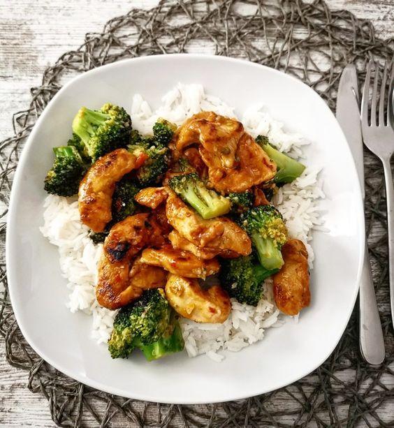 Brokkoli-Honig-Hähnchen #foodrecipies
