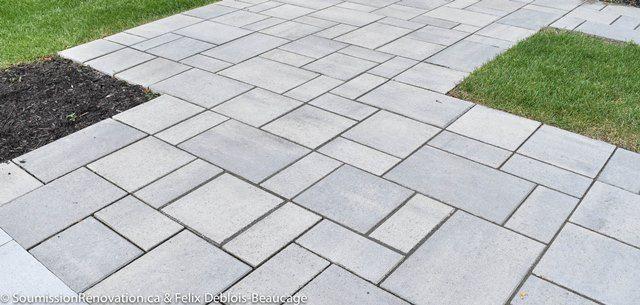 Prix du pavage du0027asphalte, pavé-uni et béton - prix d une terrasse en beton