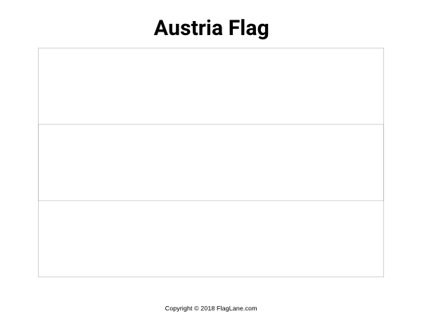 Free Printable Austria Flag Coloring Page Download It At Flaglane