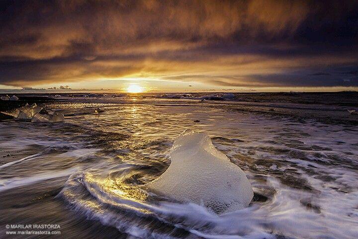 Bella puesta sol