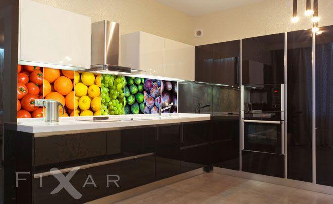 Fototapeten Obst und Gemüse in der Küche Fototapeten für Küche - fototapeten für die küche
