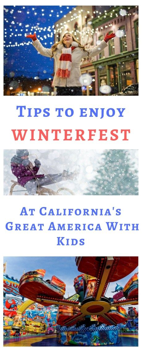 Tips to enjoy Winterfest at California's Great America ...