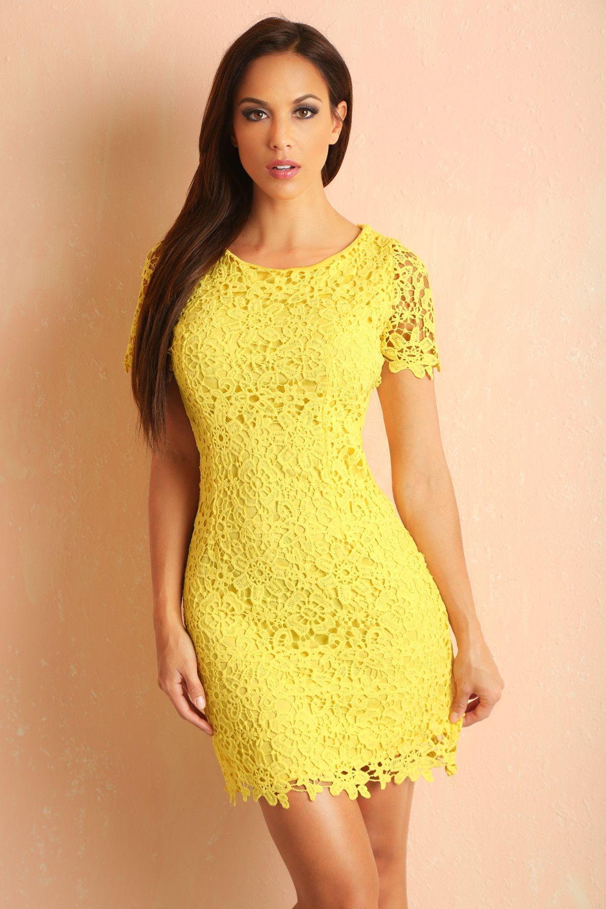Regina yellow lace dress lace lace lace pinterest lace dress